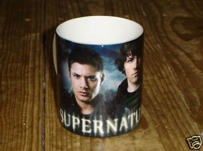 Supernatural Dean and Sam Winchester MUG Words
