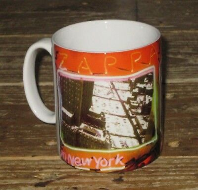 Frank Zappa Live in New York Advertising MUG