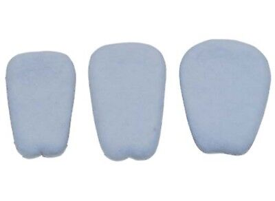 6 PAIR FELT SHOE TONGUE PADS self adhesive REDUCES HEEL SLIPPING