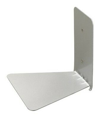 CONCEAL Invisible Floating Book Shelf LARGE SIZE SILVER COLOR umbra