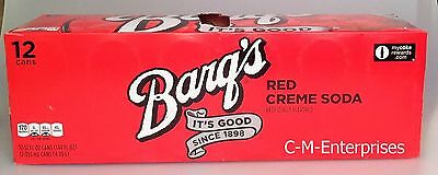 Barq's Red Creme Soda 12 pack