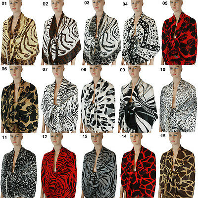New Pashmina Scarf Shawl Wrap Cape Cashmere Silk Wool More Design & Colors 108s