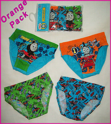 THOMAS & FRIENDS - 4 Pack BOYS BRIEFS UNDERWEAR Undies - Choose Size 2 3 4 6 NEW