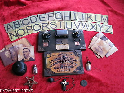 Duel Morphic Spirit Lamp Magic Trick Full Kit Seance