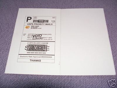 1000 Shipping Label 8.5X5.5 ( 2 PER SHEET 500 SHEETS )