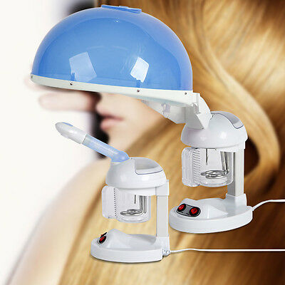 2in1 Table-top Facial & Hair Steamer Ozone Aroma Hair Moisture CE