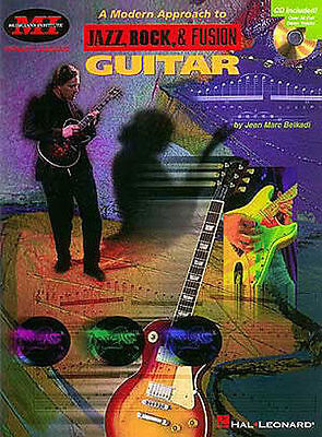 A Modern Approach To Jazz, Rock & Fusion Guitar Tab Book Cd NEW!
