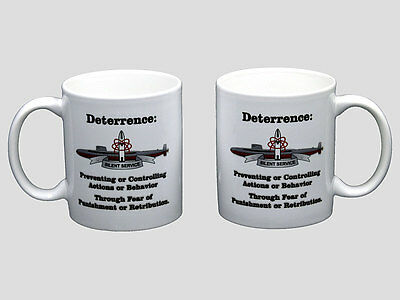 Submarine Definition of Deterrence Boomer Coffee Mug SSBN NEW