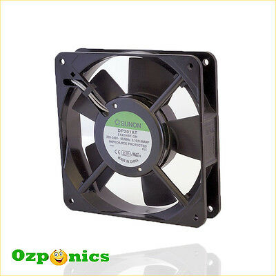 240v OZ plug HYDROPONIC 120MM  Fan HYDROPONICS Ventilation Grow Light