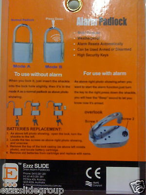 Alarm Padlock All Purpose Siren  Buy Now )))))))))))))))))