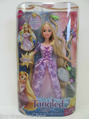 Disney's Bend & Style Rapunzel Doll with 3 hair extensions & hair accessories