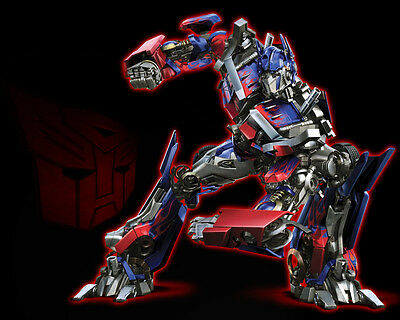 Transformers 5 Edible Icing Party Cake Topper Decoration Image Custom