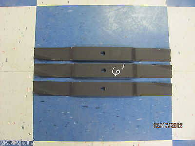 3 Replacement Blades For 6' Finishing Mowers, Caroni 71001000, Maschio T14004020