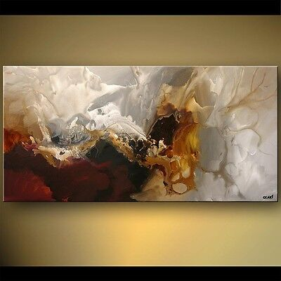 """48""""  PRINT STRETCHED ready to hang Modern ABSTRACT ART  by OSNAT"""