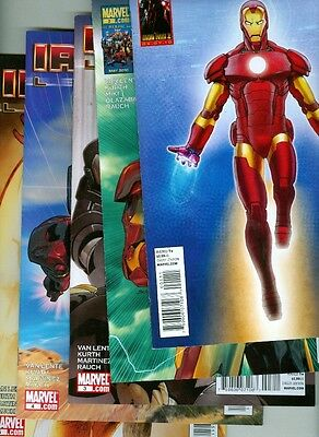 Iron Man Legacy lot #1-5 - 2010