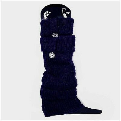 Dancing, Gymnastics, Winter Leg Warmers Blue