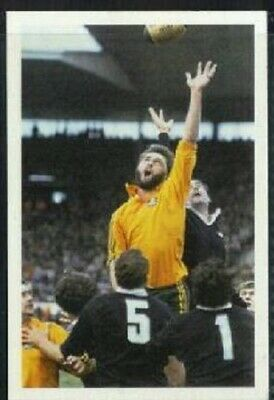 Scarce Trade Card of Steve Williams, Rugby Union 1986