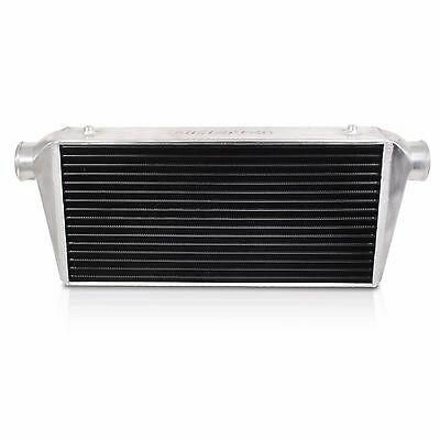 Direnza Black Front Mount Intercooler Fmic For Audi A3 A4 S3 Tt Quattro Turbo