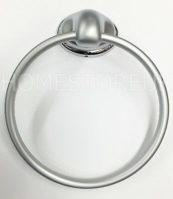 Sabichi Kingston Chrome Towel Ring Holder Wall Mount Mounted Bathroom 58645
