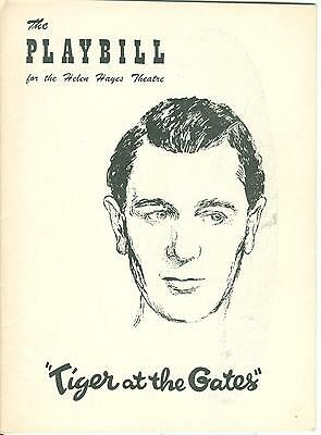 1956 Playbill TIGER AT THE GATES Michael Redgrave Walter Fitzgerald