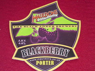Beer Pump Clip - Blackberry Porter