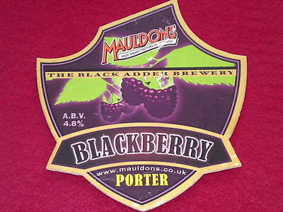 Beer Pump Clip - Blackberry Porter #2