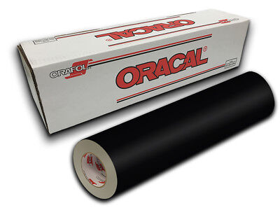 "24"" X 10yd - Black Gloss Oracal 651 Intermediate Graphic & Sign Cutting Vinyl"