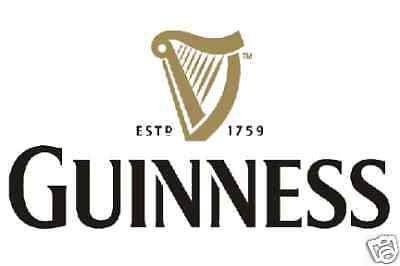 Guinness Vinyl Sticker Decal 18""
