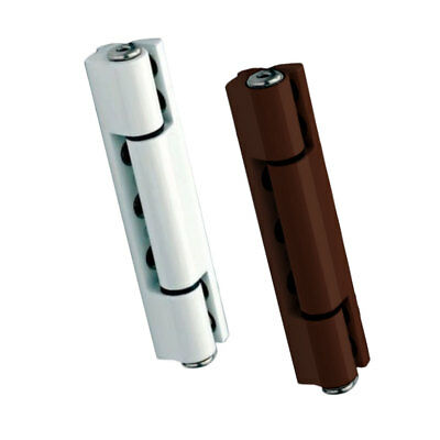 UPVC Door Butt Hinge. Available in Flat & Angled, White & Brown. 115mm Hinge
