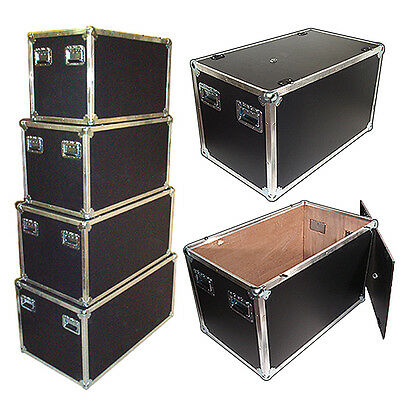 "New Design! LATCHLESS FLAT LID UTILITY TRUNK 3/8"" - 38x22x21 Inside Dimensions"