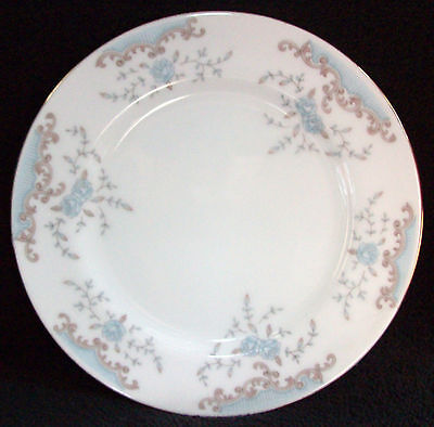 "Imperial China Seville Pattern #5303 Bread and Butter Plate 6 5/8"" Light Wear"