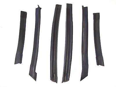 1995-2000 Sunfire & Cavalier convertible top roof rail side weatherstrip seals