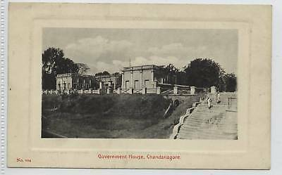 Government House, CHANDANAGORE c1910