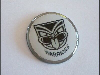 anneys ~ GOLF  BALL  MARKER - the warriors - nrl ~