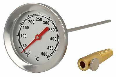 500 ° C Grad Backofen Pizzaofen Holzofen Thermometer Analogthermometer Celsius