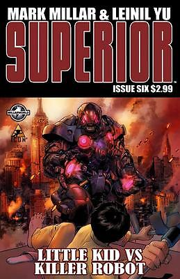 Superior #6 Nm Mark Millar Leinil Yu Icon