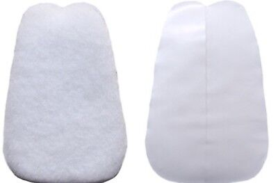 1 Pair 2XL  elephant sized felt TONGUE PADS  for shoes cadillac brand