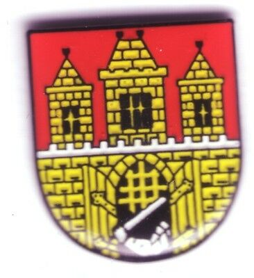 Prag Stadtwappen , Wappen Pin,Coat of Arms Badge Praha Tschechien