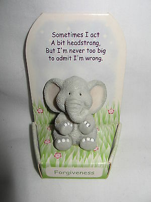 "Russ ""i Beleive In You"" Elephant For ""forgiveness"" Miniature"