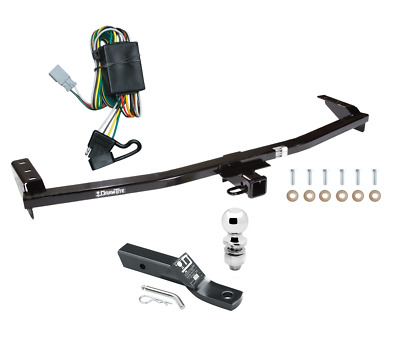 "Trailer Tow Hitch For 03-08 Honda Pilot 01-06 Acura MDX Pkg w/ Wiring & 2"" Ball"