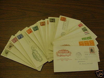 1938 Presidential First Day Cover set - House of Farnam