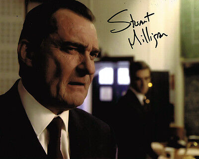 Stuart Milligan HAND SIGNED Autograph in Doctor Who 10x8 Photo AFTAL COA Tardis