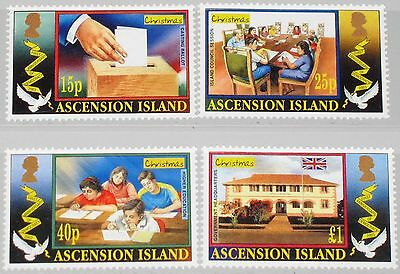 ASCENSION 2003 913-16 834-37 Weihnachten Christmas Dove Wahlen Elections MNH