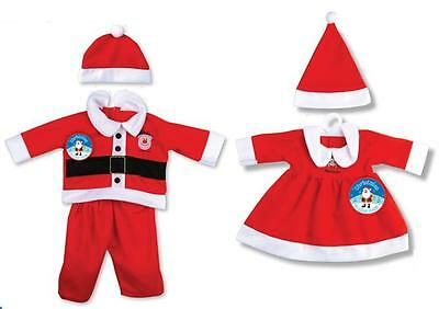 Christmas Santa Toddler Outfits - 2 Designs - 3 sizes