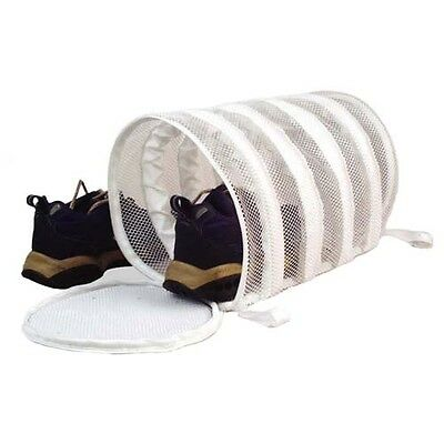 Mesh Sneaker Laundry Wash Bag Tube For Shoes *FREE S&H*