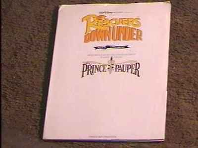 Rescuers Down Under  Press Kit W 4 / Photos Disney
