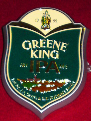 New Beer Pump Clip With Fittings - Greene King Ipa