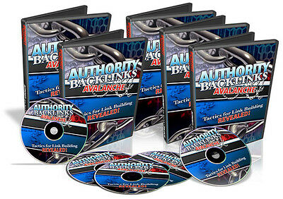 Effective Technique To Build Authority Backlinks & Traffic Tutorial Videos on CD