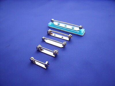 Brooch Fittings Backs Pins Various Sizes x 10