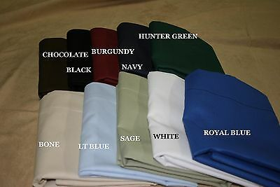 2 WATERBED Cotton Rich SHEET SETS + Free body Pillow - 200 thread count Percale
